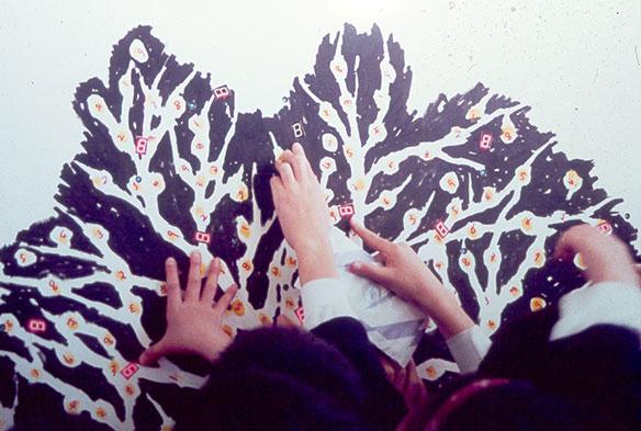 柳北小学校でのワークショップ